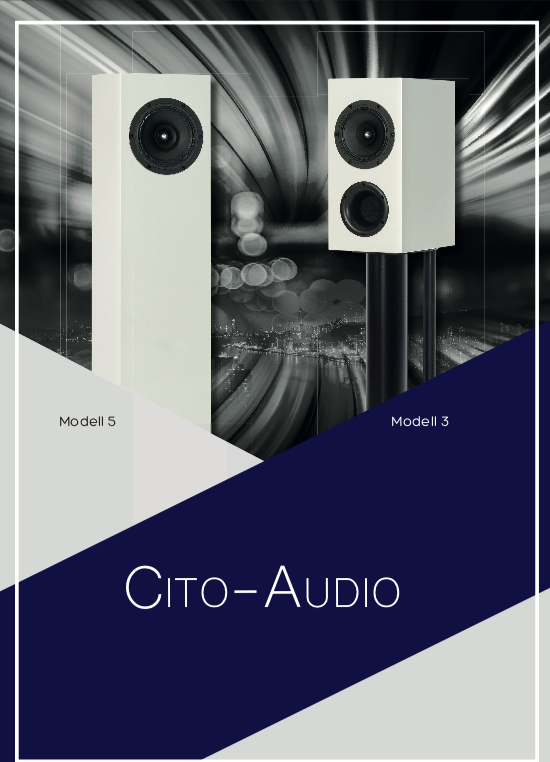 CITO-Audio-Produktflyer